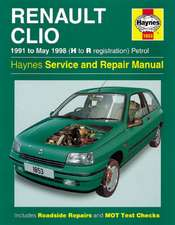 Renault Clio Petrol Service and Repair Manual: Renault Clio Petrol (91 - May 98) H to R