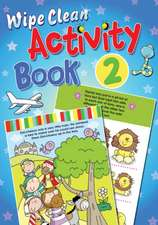 Wipe Clean Activity, Book 2