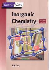 Instant Notes Inorganic Chemistry:  Cancer and Control of Cell Proliferation