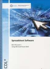 ECDL Syllabus 5.0 Module 4 Spreadsheets Using Excel 2010