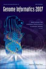 Genome Informatics 2007:  Genome Informatics Series Vol. 19 - Proceedings of the 18th International Conference