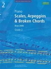 Piano Scales, Arpeggios & Broken Chords, Grade 2