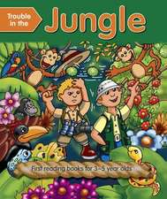 Trouble in the Jungle (Outsize):  First Reading Books for 3-5 Year Olds