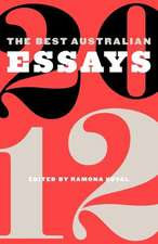The Best Australian Essays 2012