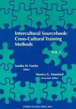 Intercultural Sourcebook Vol. 1:  Cross-Cultural Training Methods