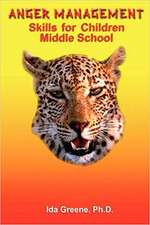 Anger Management Skills for Children Middle School