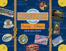 Sunny Climes Luggage Labels