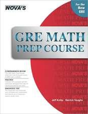 GRE Math Prep Course:  A Thorough Review