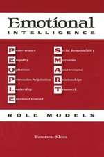 Emotional Intelligence:  People Smart Role Models