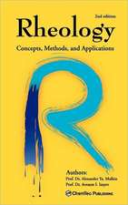 Rheology: Concepts, Methods, and Applications