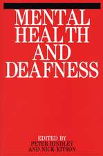 Mental Health and Deafness