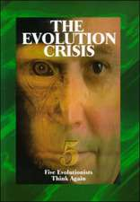 The Evolution Crisis