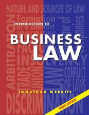 Introduction to Business Law 3rd Ed:  Third Edition