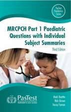MRCPCH Paediatric Questions with Individual Subject Summaries