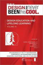 Proceedings of Iced'09, Volume 10, Design Education and Lifelong Learning:  Journey to the Voids