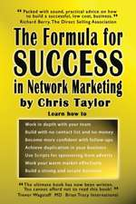 The Formula for Success in Network Marketing