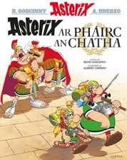 Asterix ar Phairc an Chatha (Irish)