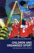 Children and Organised Sport