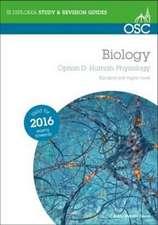 IB Biology Option D Human Physiology