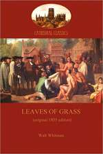 Leaves of Grass - 1855 Edition (Aziloth Books)