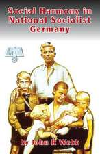 Social Harmony in National Socialist Germany