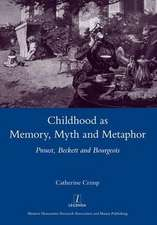 Childhood as Memory, Myth and Metaphor:  Proust, Beckett and Bourgeois