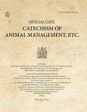 Catechism of Animal Management, Etc.