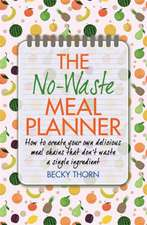 The No-Waste Meal Planner