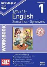 KS2 Semantics Year 5/6 Workbook 1 - Synonyms