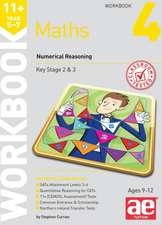 11+ Maths Year 5-7 Workbook 4
