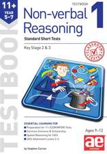 11+ Non-verbal Reasoning Year 5-7 Testbook 1