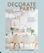 Decorate for a Party