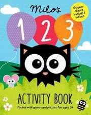 Milo's 123 Activity Book
