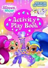 SHIMMER & SHINE PRESS OUT PLAY ACTIVITY