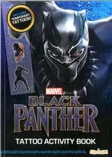 BLACK PANTHER TATTOO ACTIVITY BOOK