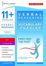 11+ Puzzles Vocabulary Puzzles Book 1