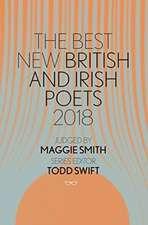 Best New British and Irish Poets 2018