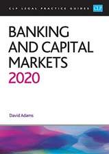 Banking and Capital Markets 2020