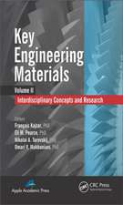 Key Engineering Materials, Volume 2:  Interdisciplinary Concepts and Research
