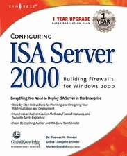 Configuring ISA Server 2000: Building Firewalls for Windows 2000