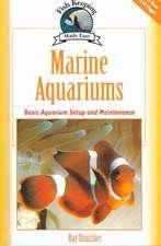 Marine Aquariums:  Basic Aquarium Setup and Maintenance