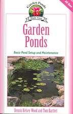 Garden Ponds:  Basic Pond Setup and Maintenance