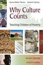 Why Culture Counts:  Teaching Children of Poverty