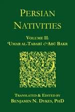 Persian Nativities II:  Umar Al-Tabari and Abu Bakr
