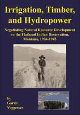 Irrigation, Timber, and Hydropower: Negotiating Natural Resource Development on the Flathead Indian Reservation, Montana, 1904–1945