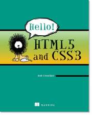 Hello! HTML5 and CSS3:  A User-Friendly Reference Guide