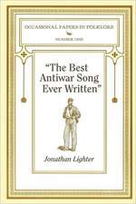 """The Best Antiwar Song Ever Written"""