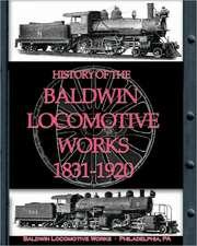 History of the Baldwin Locomotive Works 1831-1920:  The Family Plot