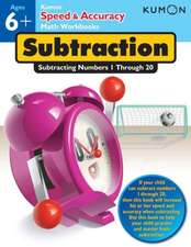 Subtraction:  Subtracting Numbers 1-20