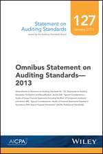 Statement on Auditing Standards, Number 127: Omnibus Statement on Auditing Standards